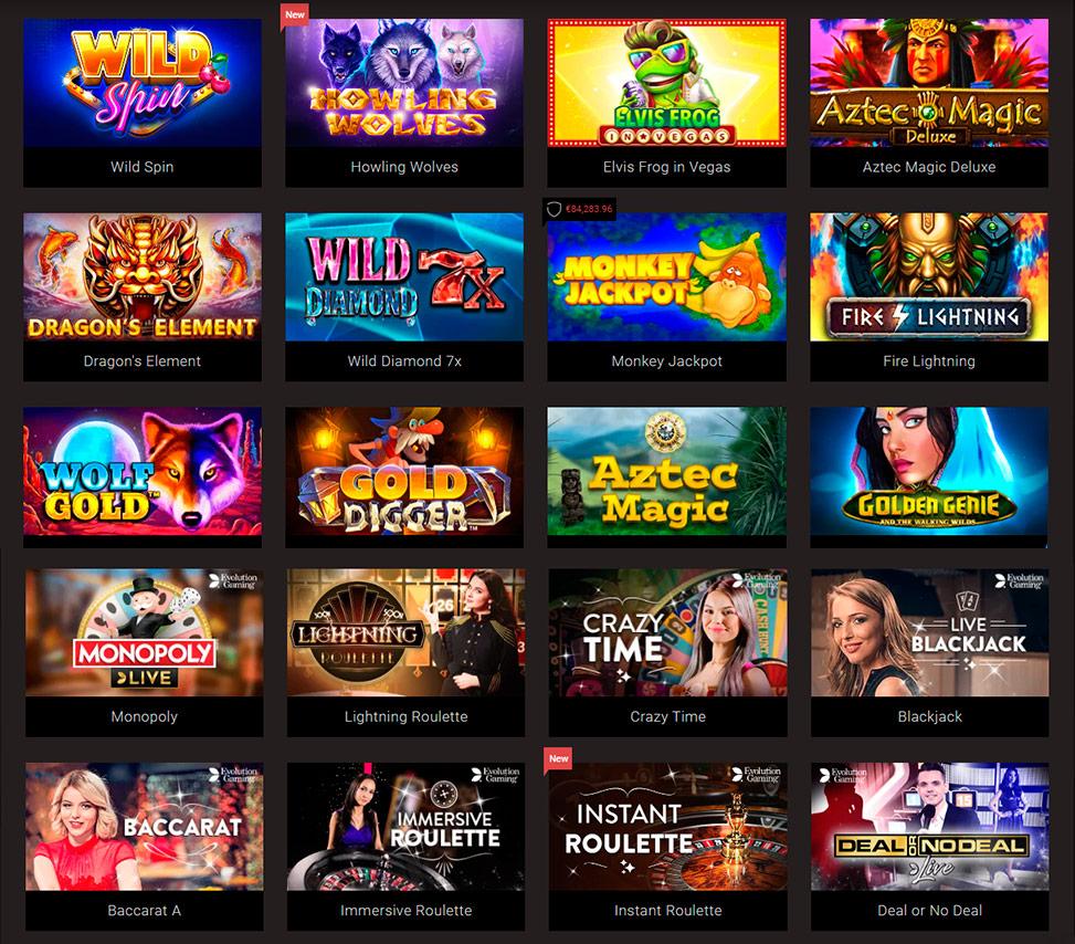 Casinos nog open